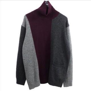 UNDERCOVER - UNDERCOVER メンズ ニット セーター 【ブロック プルオーバー】