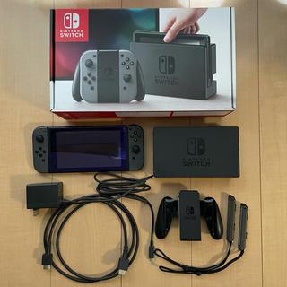 Nintendo Switch - ニンテンドーSwitch  本体 グレー 旧型