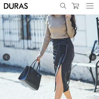 DURAS - DURAS  スリット入りスカート