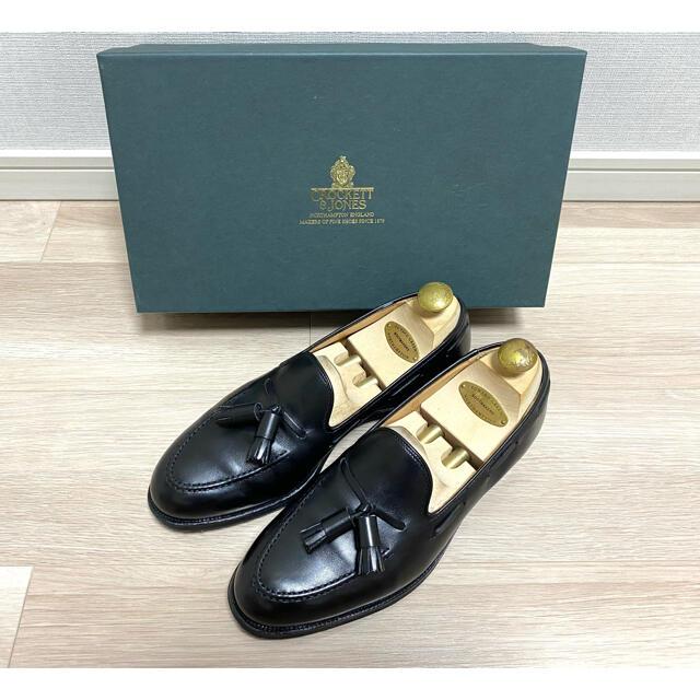 Crockett&Jones(クロケットアンドジョーンズ)の【美品】クロケット&ジョーンズ キャベンディッシュ3 6E タッセルローファー メンズの靴/シューズ(ドレス/ビジネス)の商品写真
