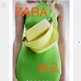 ZARA - 【新品タグ付き】ZARA アニマルプリント ネオン クロスボディバッグ 完売
