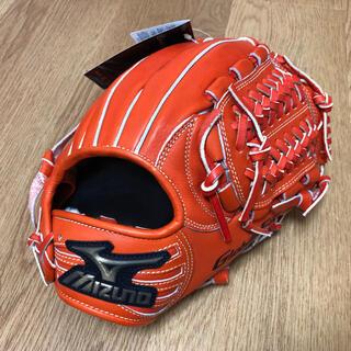 MIZUNO - グローバルエリート硬式 / 内野手用H1 /サイズ8/スプレンディッドオレンジ