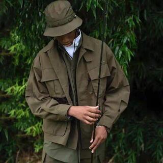 DAIWA PIER39 Tech Jungle Fatigue Jacket