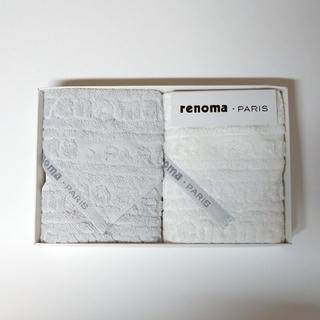 レノマ(RENOMA)のrenoma ハンドタオル 25cm タオル(タオル/バス用品)