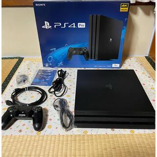 SONY - PS4Pro Jet Black CUH-7100B B01