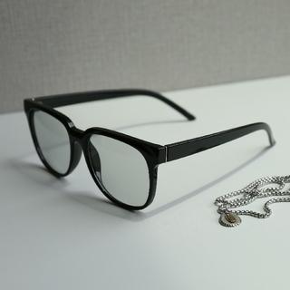 ウェリントンサングラス y300030 ブラック/ライトグレー(4)