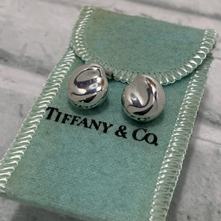 Tiffany & Co. - 美品 ヴィンテージティファニー TIFFANY 初期 ビーンズ イヤリング