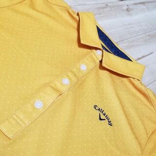 Callaway Golf - 《極美品》キャロウェイ ゴルフウエア レディース 半袖 シャツ M