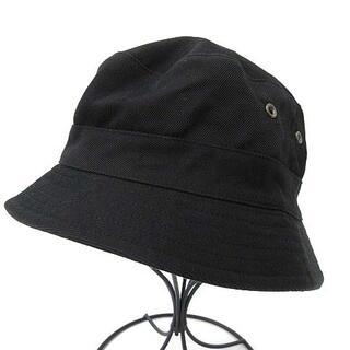 フミカ ウチダ FUMIKA_UCHIDA 帽子 バケットハット 57 黒