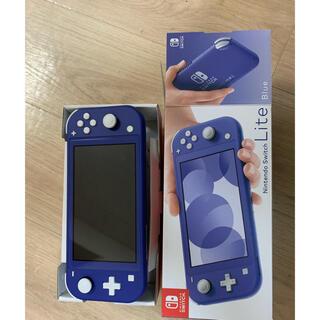 Nintendo Switch - 任天堂スイッチライトブルー