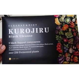 FABIUSKUROJIRU 黒汁 新品未開封 90g(ダイエット食品)