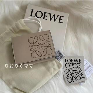 LOEWE - 訳あり 新品 ロエベ  ロゴ ミニ財布