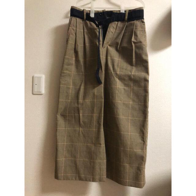 sacai(サカイ)のsacai 19ss ワイドパンツ メンズのパンツ(スラックス)の商品写真