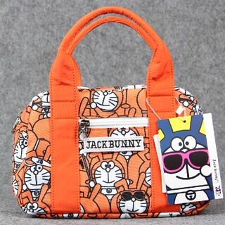オレンジ jack bunny ジャックバニーゴルフ用 カートバック ドラえもん(バッグ)
