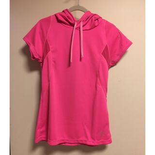 アシックス(asics)のレディース ランニングパーカーTシャツ asics(Tシャツ(半袖/袖なし))