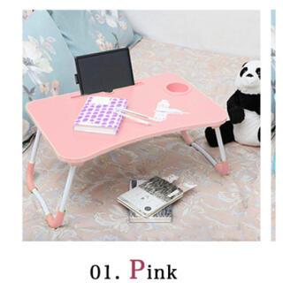 【新品】ミニテーブル ピンク(ローテーブル)