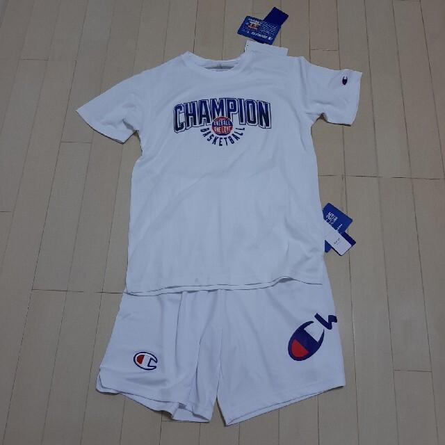Champion(チャンピオン)のChampion バスケットボール ジュニア上下セット 160cm チャンピオン スポーツ/アウトドアのスポーツ/アウトドア その他(バスケットボール)の商品写真