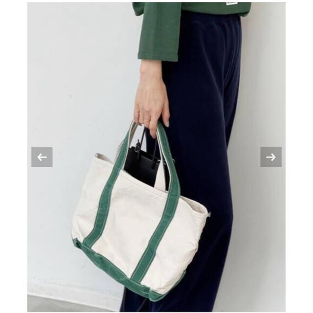 L'Appartement DEUXIEME CLASSE(アパルトモンドゥーズィエムクラス)のL'Appartement L.L.Bean Canvas Tote Bag M レディースのバッグ(トートバッグ)の商品写真