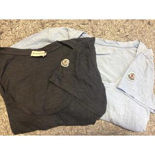 モンクレール(MONCLER)のモンクレール tシャツ 二着セット(Tシャツ(半袖/袖なし))