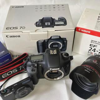 Canon - 【超美品・おまけ付】Canon カメラ2台・レンズset