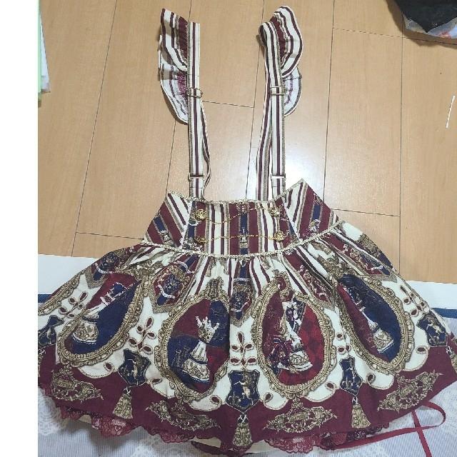 Angelic Pretty(アンジェリックプリティー)のchess emblem angelic pretty スカート レディースのスカート(ミニスカート)の商品写真