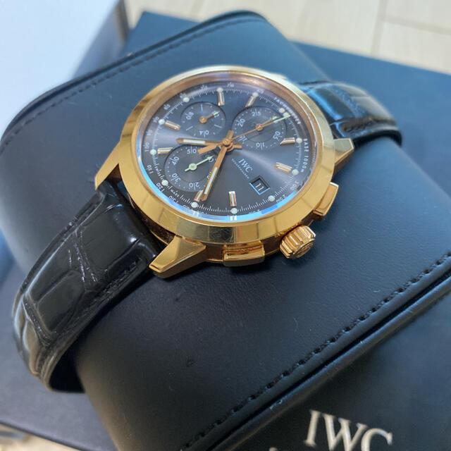 IWC(インターナショナルウォッチカンパニー)のIWC IW380803 インヂュニア・クロノグラフ 機械式 自動巻 メンズの時計(腕時計(アナログ))の商品写真
