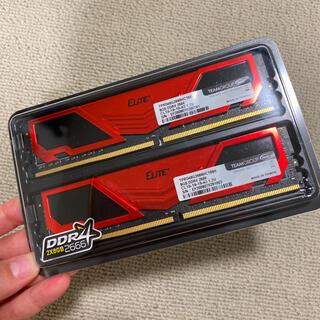 新品】TEAM 2666 DDR4 8GB 2枚セット