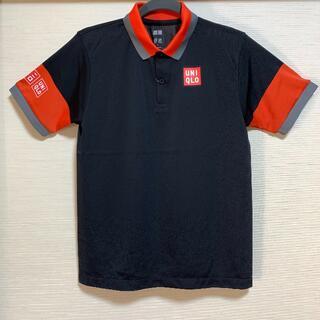 ユニクロ(UNIQLO)のユニクロ NK ドライ EX ポロシャツ ブラック Sサイズ 錦織圭 未使用品(ウェア)