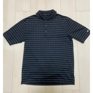 ナイキ(NIKE)のナイキ ポロシャツ Sサイズ ブラック(ポロシャツ)