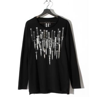 ロエン(Roen)のSWITCHBLADE KNIVES L/S TEE  Sサイズ(Tシャツ/カットソー(七分/長袖))