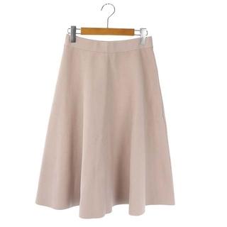 アナイ(ANAYI)のアナイ ANAYI ミディフレアニットスカート ロング 38 ピンク(ロングスカート)