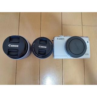 Canon - EOS M100 ホワイト・ダブルレンズキット