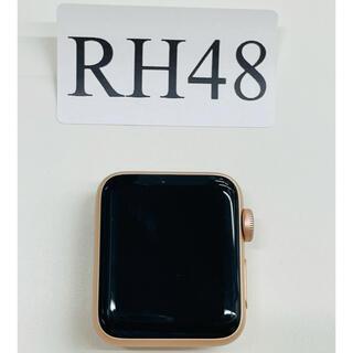 アップルウォッチ(Apple Watch)のApple Watch Series3-38ミリ GPS  中古美品(スマートフォン本体)