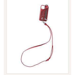ファミリア(familiar)の新品 ファミリア ajew  iPhoneケース 12/12Pro(iPhoneケース)