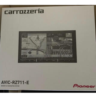 パイオニア(Pioneer)のパイオニア、カロッツェリア 楽ナビ AVIC-RZ711-E(カーナビ/カーテレビ)