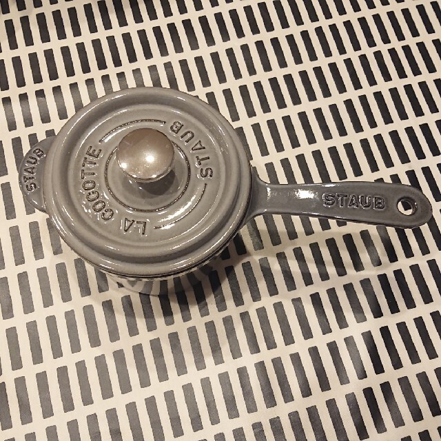 STAUB(ストウブ)のstaub スープポット 14cm インテリア/住まい/日用品のキッチン/食器(鍋/フライパン)の商品写真