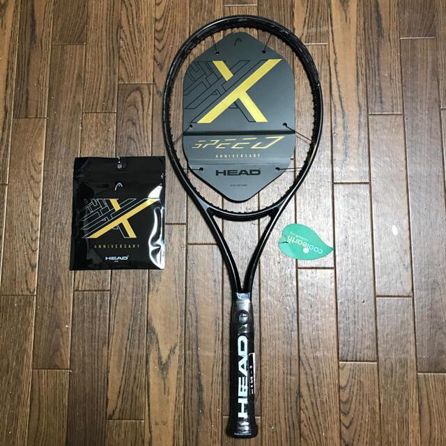 HEAD(ヘッド)のHead Graphene 360 SpeedX MP10周年記念モデルG2か3 スポーツ/アウトドアのテニス(ラケット)の商品写真