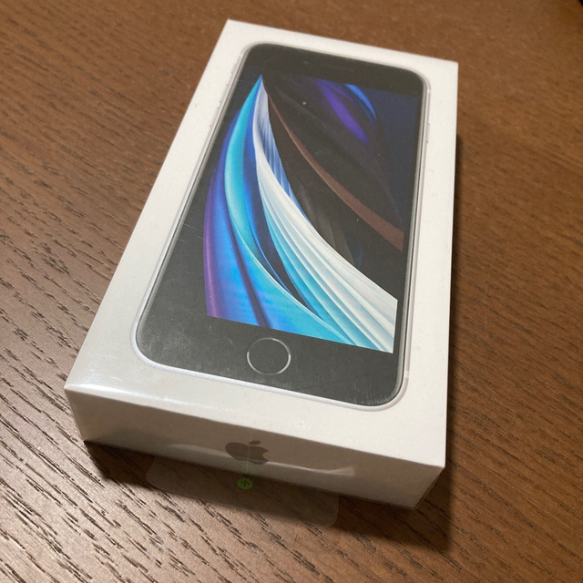 iPhone(アイフォーン)のiPhone SE2(白、64GB、simフリー、新品、未使用、未開封) スマホ/家電/カメラのスマートフォン/携帯電話(スマートフォン本体)の商品写真