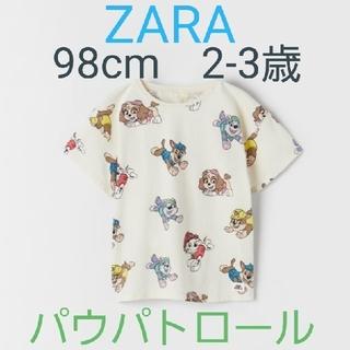 ZARA KIDS - パウパトロール×ZARA Tシャツ