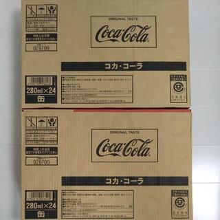 コカコーラ(コカ・コーラ)のコカ・コーラ 280ml×48缶(ソフトドリンク)
