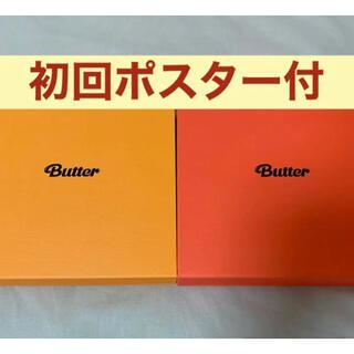 ボウダンショウネンダン(防弾少年団(BTS))のBTS 防弾少年団 Butter CD 二形態セット 2形態セット ポスター付(K-POP/アジア)
