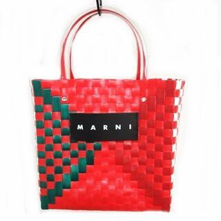 Marni - マルニ MARKET 美品 スクエアピクニックバッグ フラワーマーケット