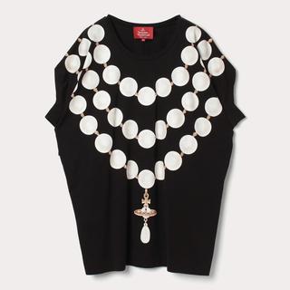 Vivienne Westwood - Vivienne Westwood ORB PEARL ネックレス Tシャツ