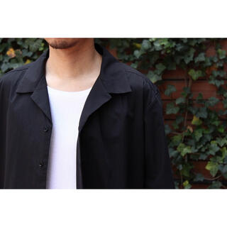 【Seya.】Short Sleeve Open Collar Shirt