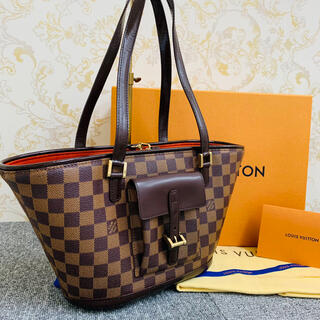 LOUIS VUITTON - ✴︎正規品 美品 ルイヴィトン マノスク ダミエ トートバッグ