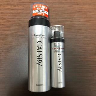【おまけ付き】GATSBY  セット&キープスプレー スーパーハードC(ヘアスプレー)