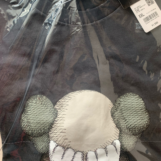 UNIQLO - ユニクロ カウズ UNIQLO kaws  Tシャツ サイズXXL ブラック