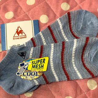ルコックスポルティフ(le coq sportif)のlecoq靴下レディース(ソックス)