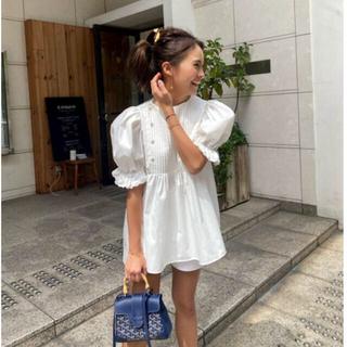 ドゥロワー(Drawer)のrosymonster♡ cupcake blouse カップケーキブラウス(シャツ/ブラウス(半袖/袖なし))
