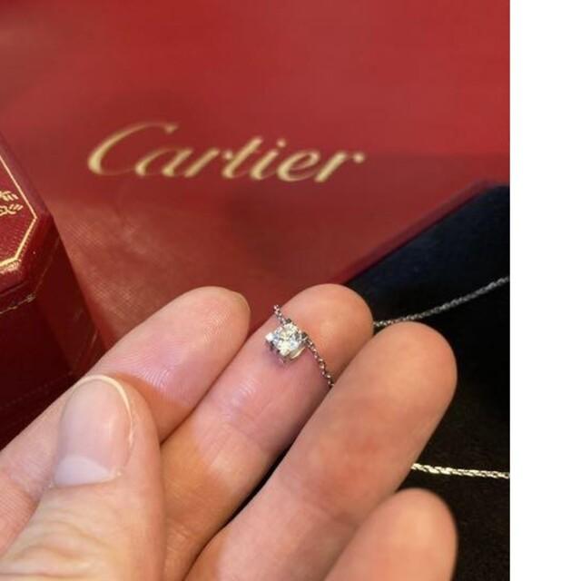 Cartier(カルティエ)の値下げ★Cドゥ カルティエ ダイヤ ネックレス レディースのアクセサリー(ネックレス)の商品写真